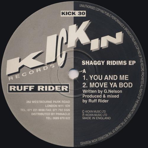 Ruff Rider - Shaggy Ridims E.P. 1992