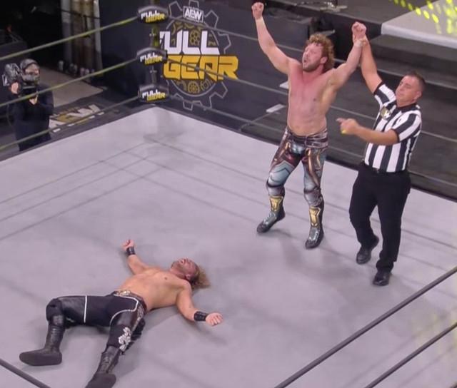 Ahora Kenny Omega nuevo retador al Campeonato de AEW
