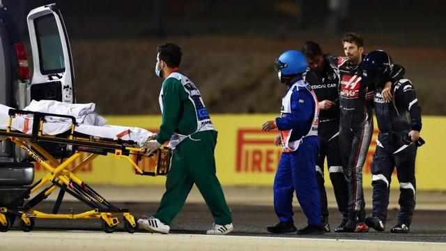 F1 GP de Bahreïn 2020 : Victoire  Lewis Hamilton  Grosjean-Haas-6