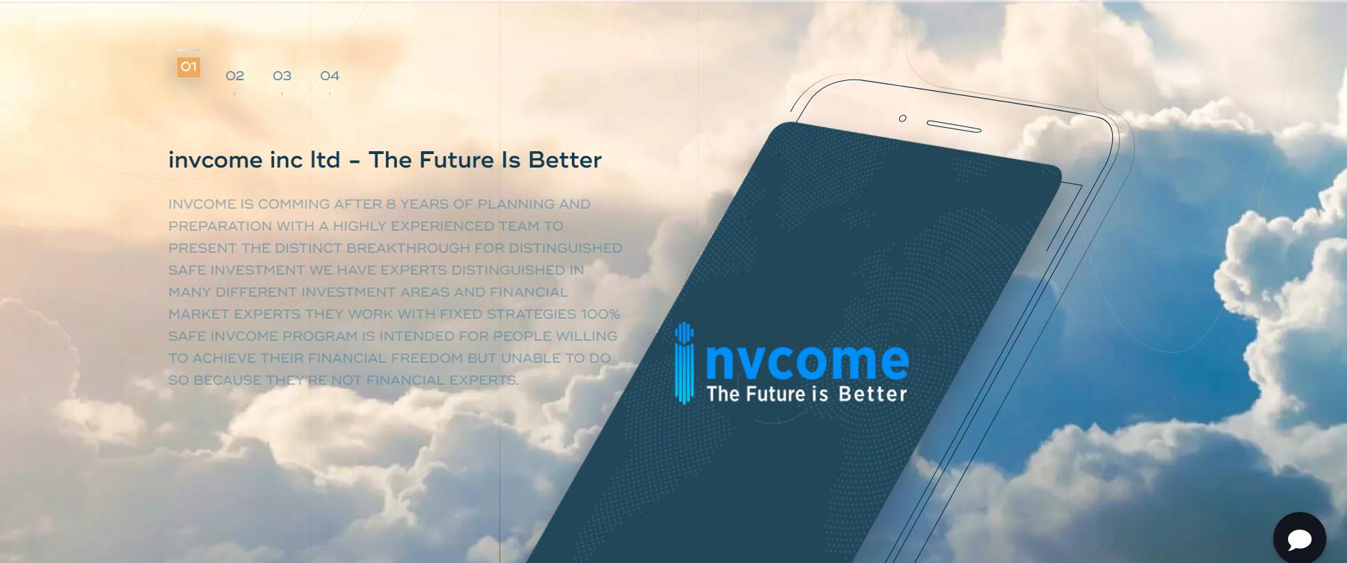 Review of invcome.com - Is invcome.comScam or Legit?