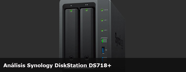 Análisis Synology DiskStation DS718+