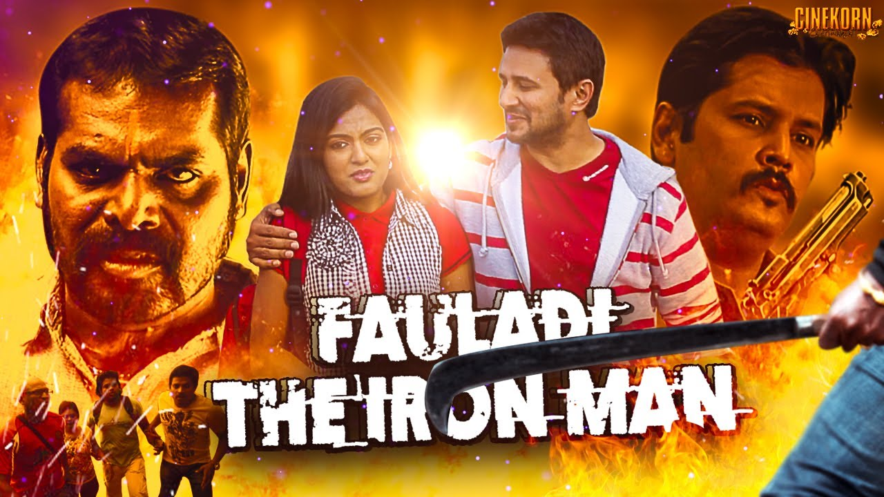 Fauladi The Iron Man (Kuzhapam) 2021 Hindi Dubbed 480p HDRip x264 AAC 400MB Download