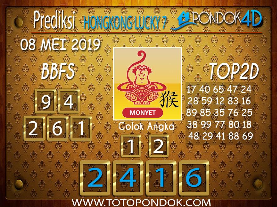 Prediksi Togel HONGKONG LUCKY 7 PONDOK4D 08 MEI 2019