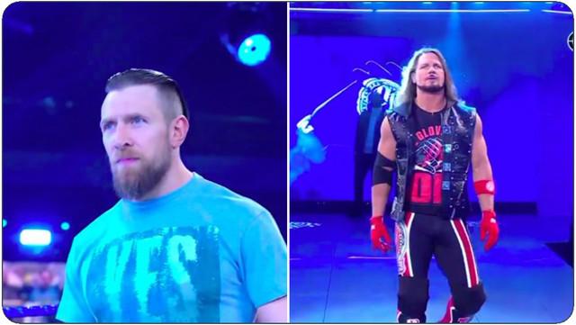 AJ Styles y Daniel Bryan SmackDown 29 de enero