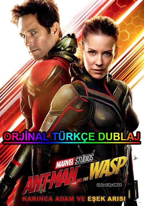 Karınca Adam ve Eşek Arısı | Ant-Man and the Wasp | 2018 | BDRip | XviD | Türkçe Dublaj | m720p - m1080p | BluRay | Dual | TR-EN | Tek Link