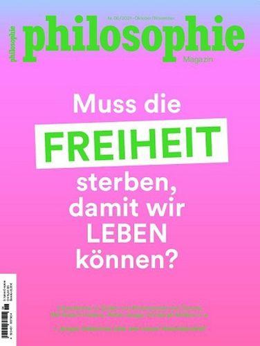 Cover: Philosophie Magazin No 06 Oktober-November 2021
