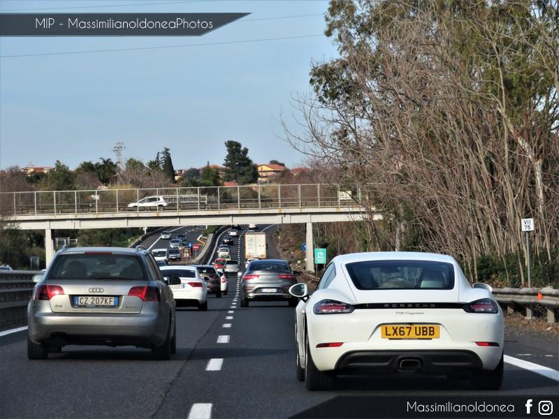 Avvistamenti auto rare non ancora d'epoca - Pagina 21 Porsche-718-Cayman-LX67-UBB