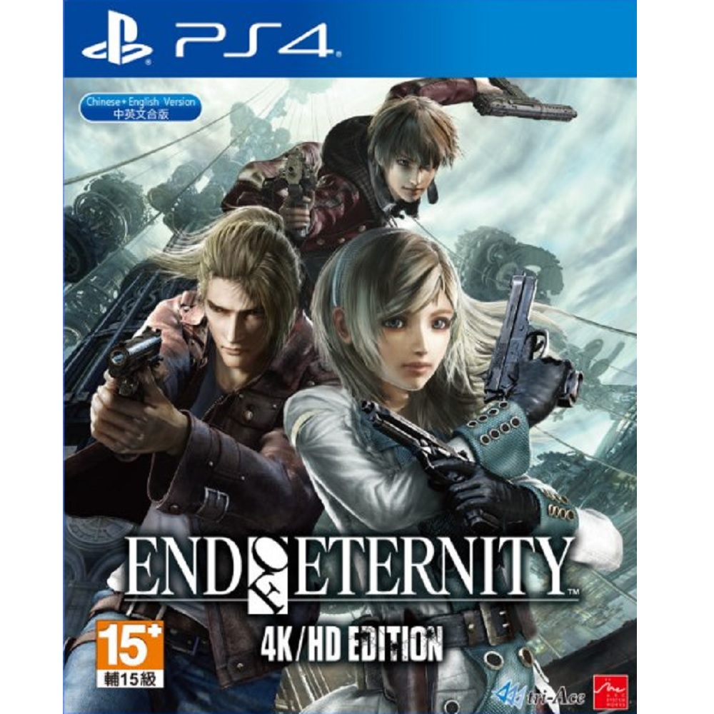 PS4 End of Eternity 4K/HD Edition (Basic) Digital Download