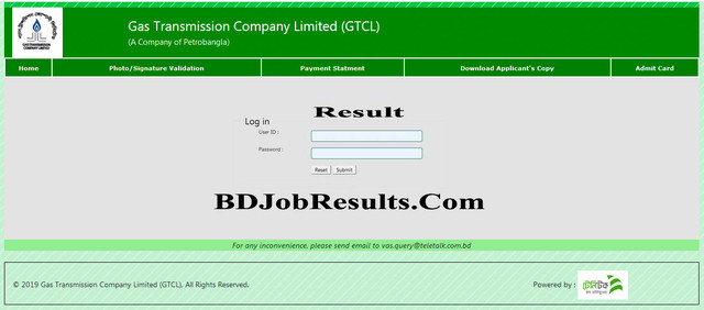 GTCL-Exam-Result-2020