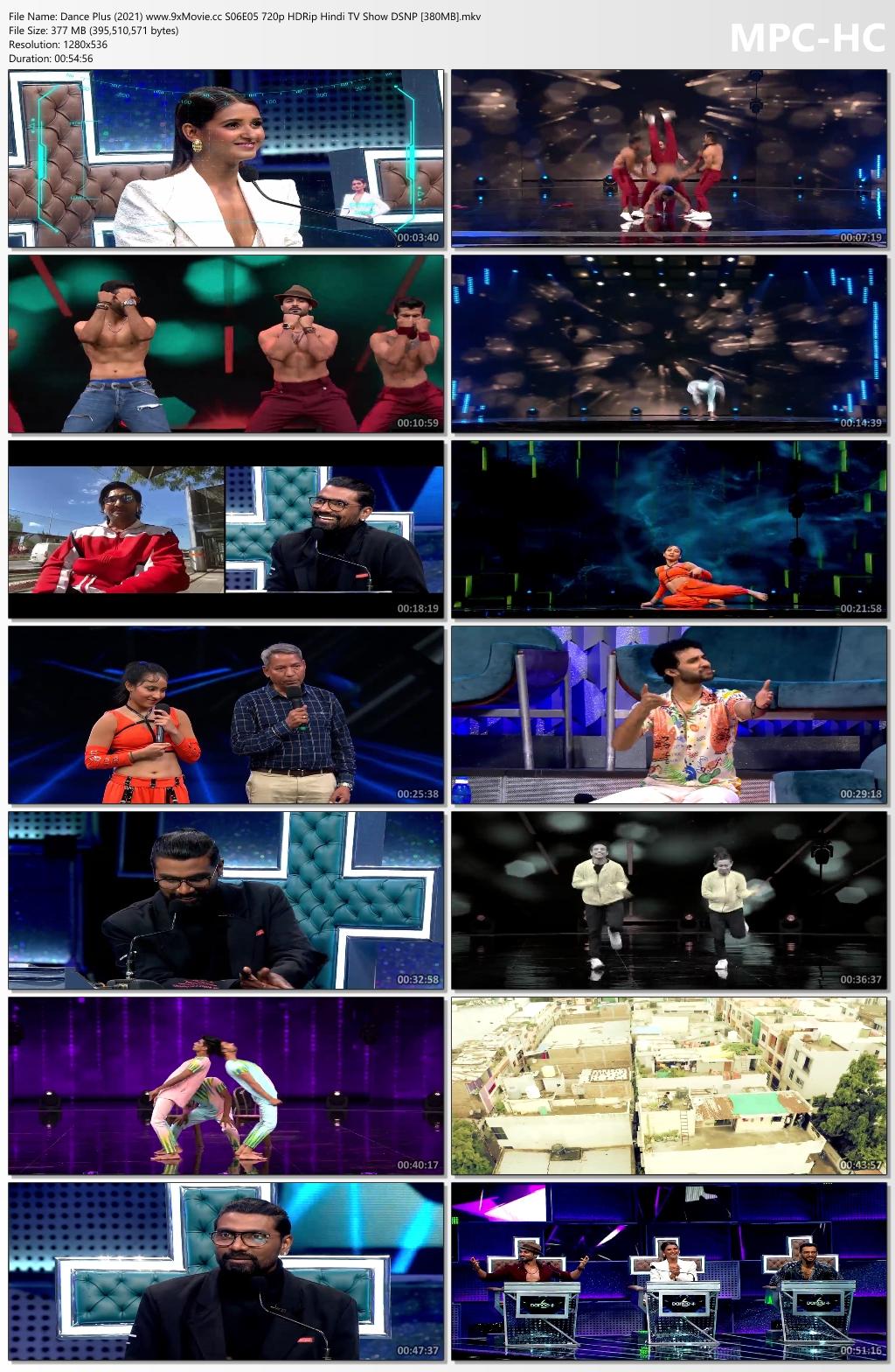Dance-Plus-2021-www-9x-Movie-cc-S06-E05-720p-HDRip-Hindi-TV-Show-DSNP-380-MB-mkv