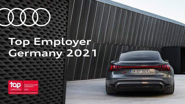 AUDI AG certifiée Top Employer de 2021 A210857-medium