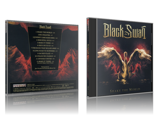(Hard Rock) Black Swan - Shake The World (Japan) - 2020 [FLAC, image +.cue, lossless]