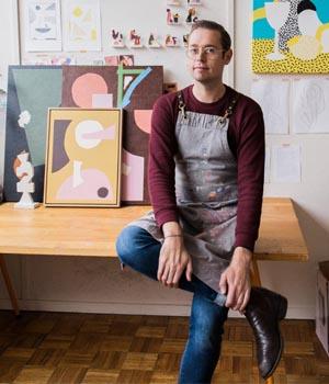 Designing the 2020 Milligram Studio diaries with artist Spenceroni