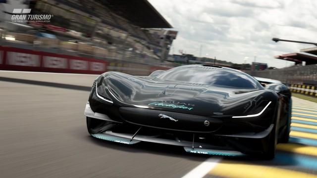 Jaguar Lève Le Voile Sur La Vision Gran Turismo SV : La Voiture De Course 100% Électrique Ultime Pour Les Passionnés De Course Automobile Jag-GTSV-Exterior-07-161220