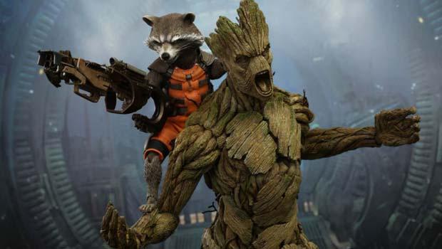 Marvel снимет сериал о приключениях Ракеты и Грута