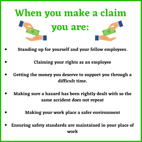 what to do with a claim