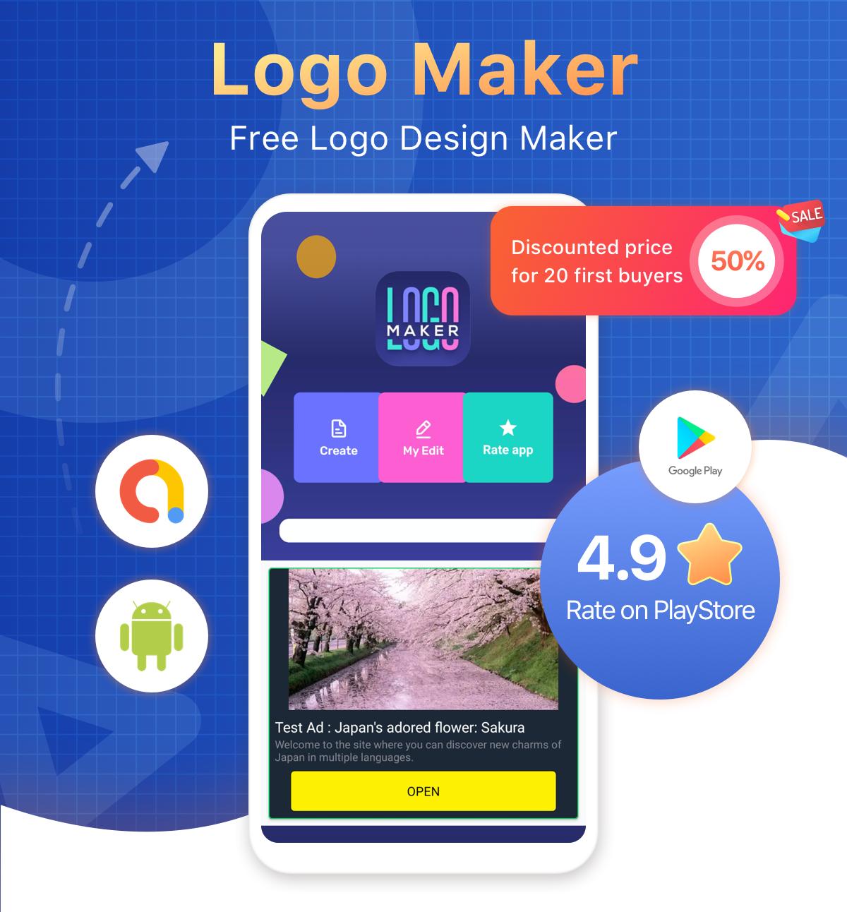 Logo Maker - Graphic Design & Logo Creator - 1