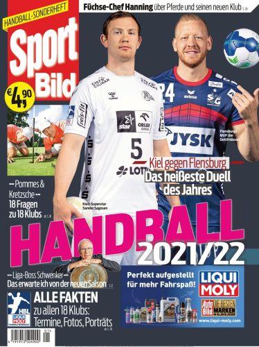 Cover: Sport Bild Magazin Handball Sonderheft No 01 2021