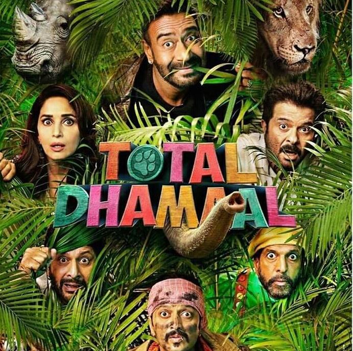 Total Dhamal (2019) HDRip Movie  720p