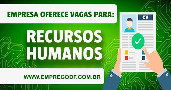 EMPREGO PRA ENCARREGADO(A) DE RECURSOS HUMANOS