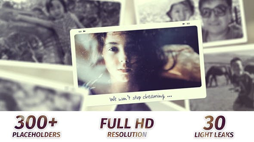 Memories Slideshow | Photo Album 23185515 - Project for After Effects (Videohive)
