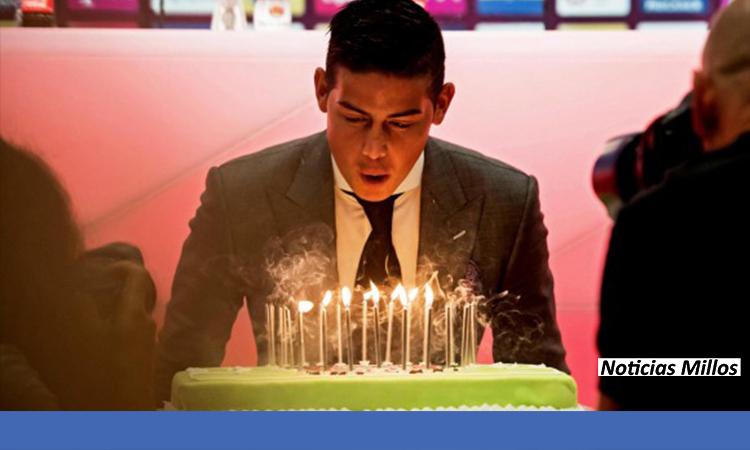 James Rodriguez cumpleaños