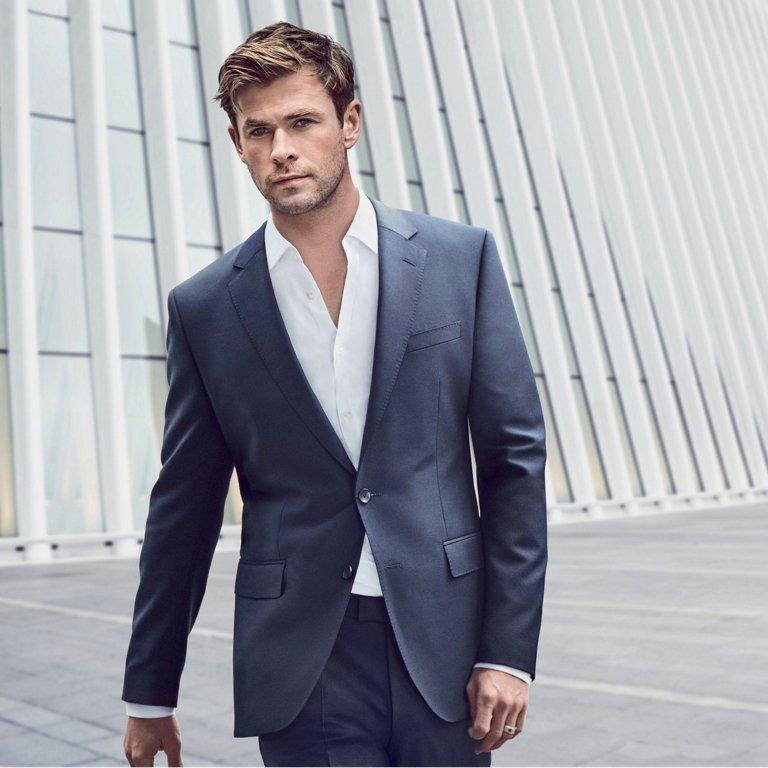 Chris Hemsworth global ambassador di Hugo Boss