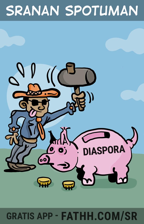 Sranan Spotuman : Spaarvarken
