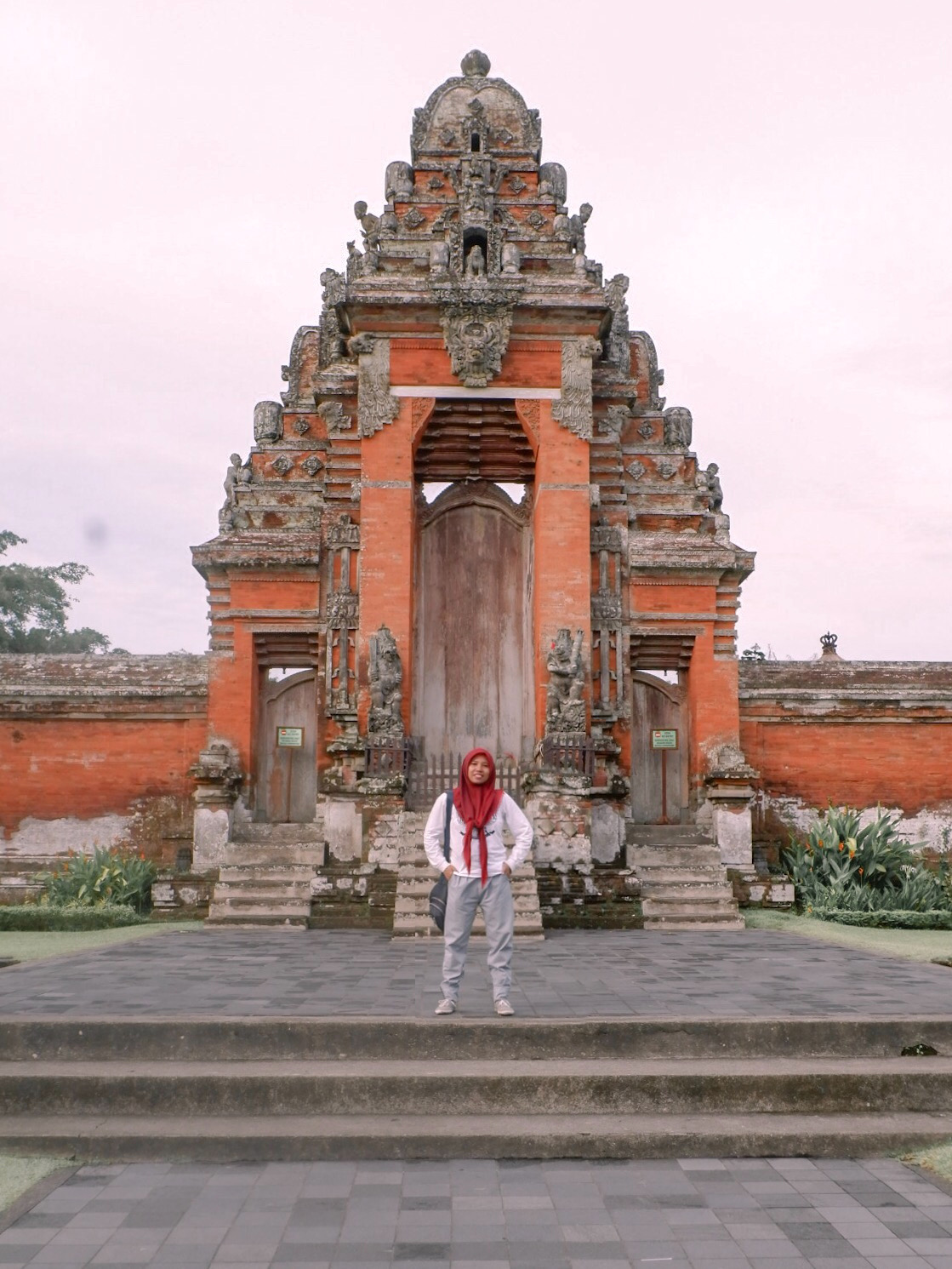 Solo Traveling in Bali, to Taman Ayun