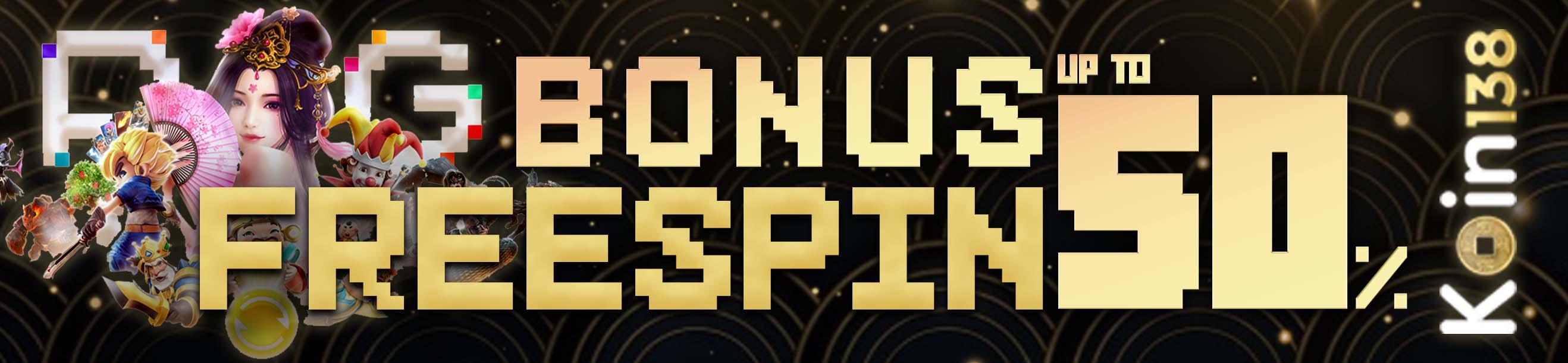 Bonus Freespin Koin138