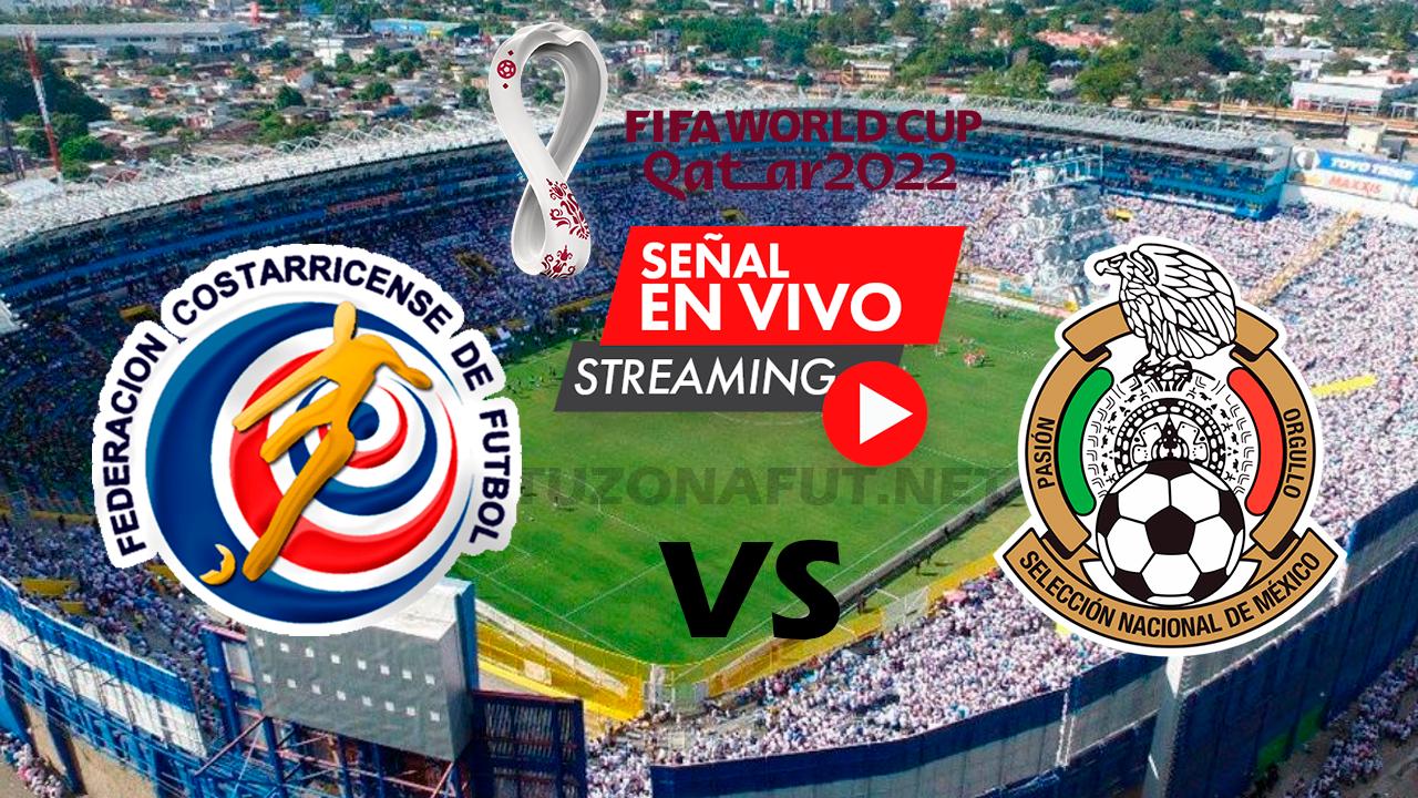 Costa Rica vs México Eliminatorias Mundial Qatar 2022