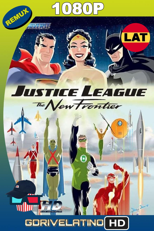 Liga de la Justicia: La Nueva Frontera (2008) BDRemux 1080p Latino-Inglés MKV