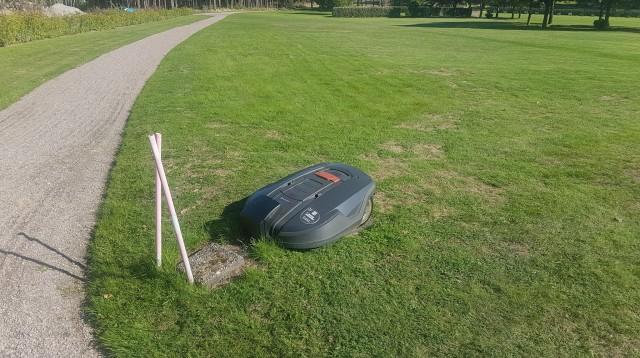 Robotgr-sklippare