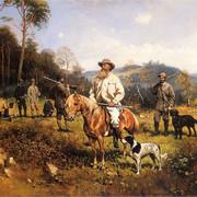 Konstanty-Branicki-na-polowaniu