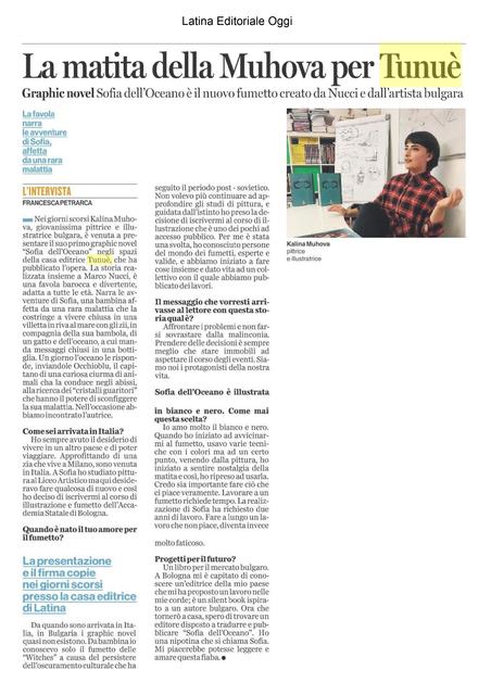 2018 05 06 Latina Editoriale Oggi 01