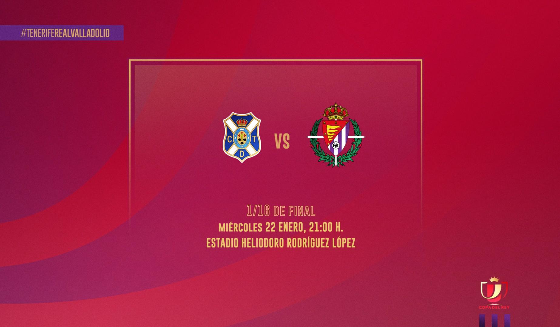 C.D. Tenerife - Real Valladolid C.F. Miércoles 22 de Enero. 21:00 Previa-tenerife