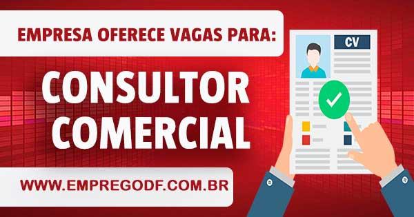 EMPREGO PARA CONSULTOR COMERCIAL