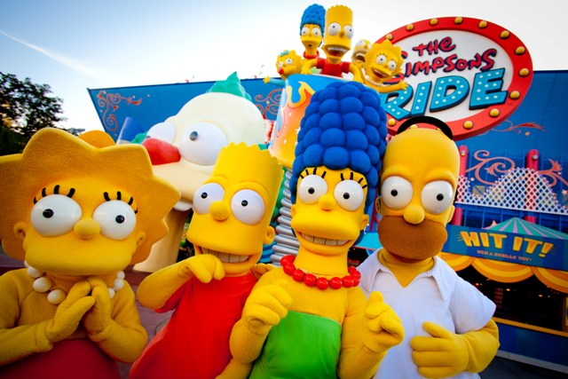 The Simpsons Ride at Universal Orlando