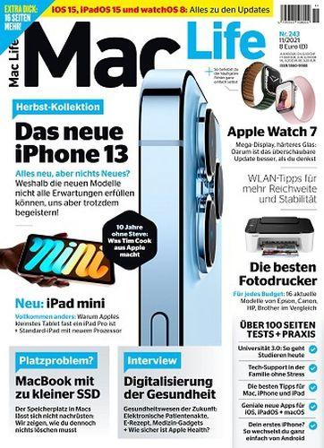 Cover: Mac Life Magazin No 11 November 2021