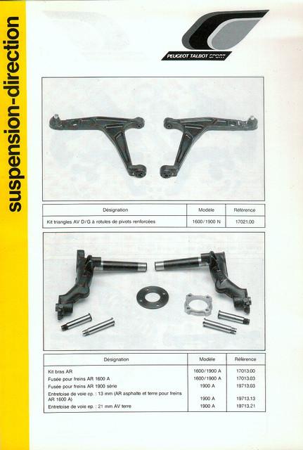 Catalogue PTS pièces compétition - 205 GTI 1600-1900 gr. N/A PTS-Suspension-Direction-5