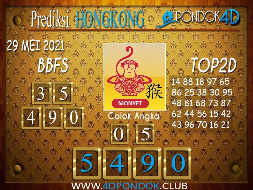 Prediksi Togel HONGKONG PONDOK4D 29 MEI 2021
