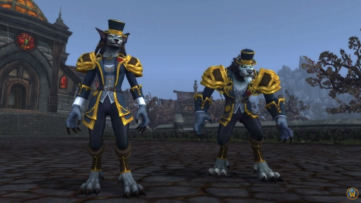 WoW 8.3 Worgen Heritage Armor Set boosting service RUSHBOOST