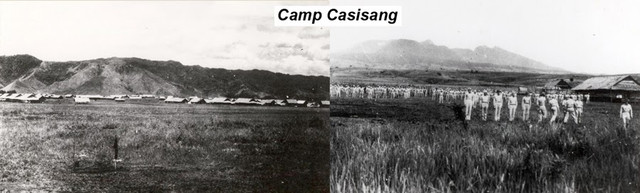 Photos of Camp Casisang in Malaybalay,Bukidnon by {Pvt. Robert B. Heer, 30th Bomb. Sqdn, 19th Bomb. Gp. (H) when he was a POW.