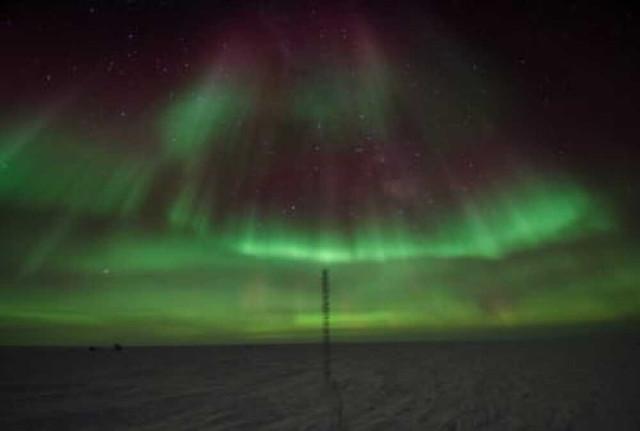 Южное полярное сияние