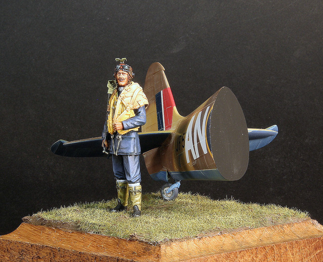 RCAF pilot, 417 Sq Marcianise Italy, janv 1944 IMG-3403