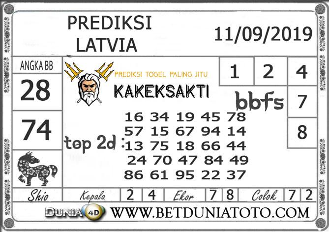 """Prediksi Togel """"LATVIA"""" DUNIA4D 11 SEPTEMBER 2019"""
