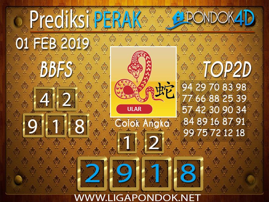 Prediksi Togel PERAK PONDOK4D 01 FEBRUARI 2019