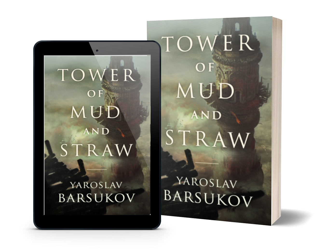 tower of mud and straw cover