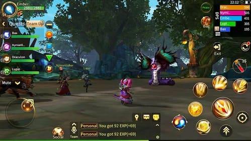 Embarque em uma aventura épica pelo mundo incrível do MMORPG! Baixe e jogue grátis um novo jogo de RPG para dispositivos móveis!