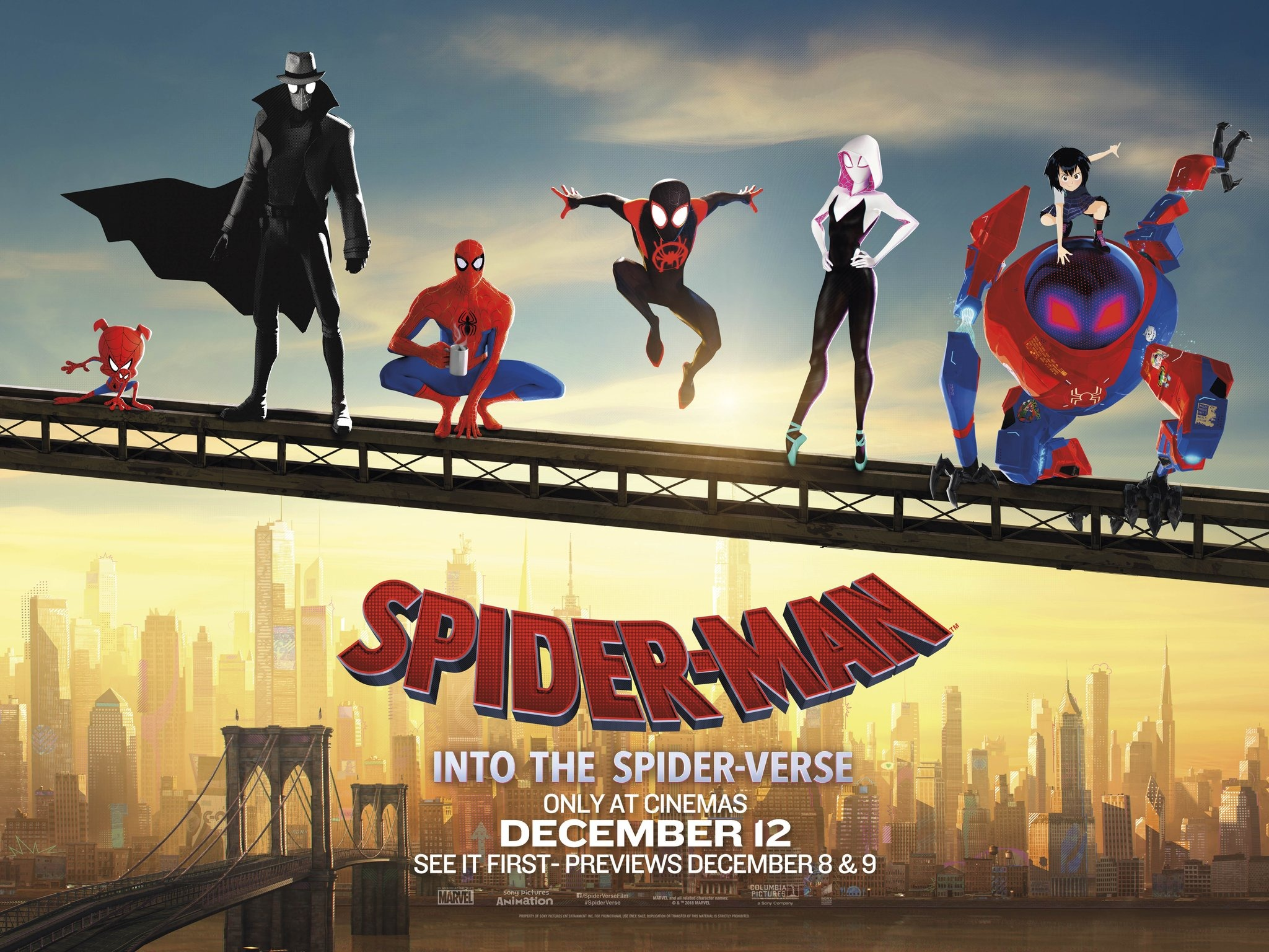 Spider-Man: Into the Spider-Verse (2018) 4K